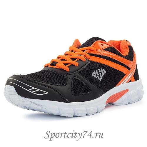 22a42337 Кроссовки AS4 Fred 47592A11 черно-оранжевые купить в Челябинске в ...