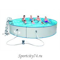 Стальной бассейн BestWay Hydrium Splasher Pool Set 56386