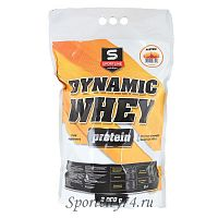 Протеин SportLine Dynamic Whey Protein 85% 3000г вкус карамель