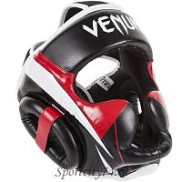 Шлем боксерский Venum Elite Headgear Premium Leather