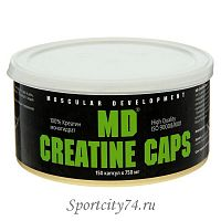 Креатина моногидрат MD Creatine Caps 999% 150 капсул