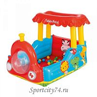 Игровой центр Bestway Fisher Price Паровоз 93503